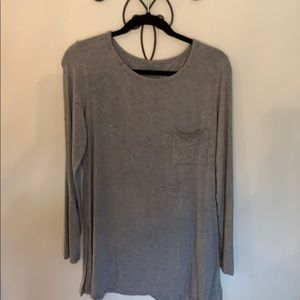 Aerie long sleeve tunic t-shirt
